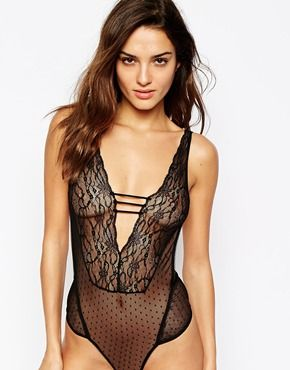 ASOS Darina Lace Bodysuit | Feminino :: Clothes | Pinterest | Lace ...