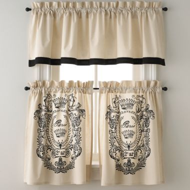 French curtains jcpenney future home pinterest for Dining room jcpenney