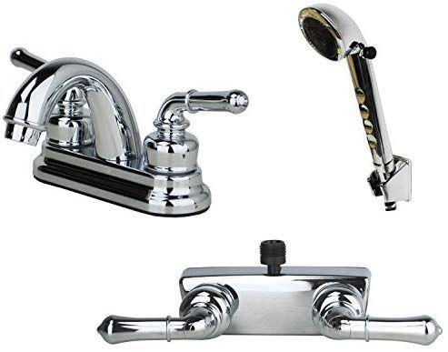 Builders Shoppe 2001cp 3220cp 4120cp Rv Bathroom Faucet With