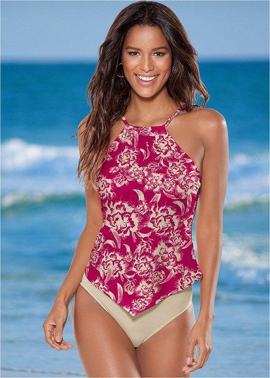 Product Tankini Swimsuits For Women Womens Tankini Swimwear High Neck Tankini