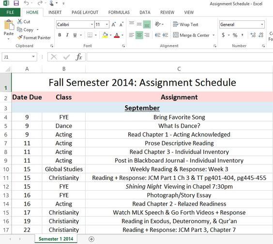 do uni assignment