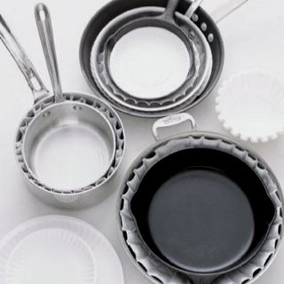 Protect your pots with coffee filters