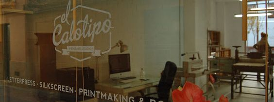 Lettering Time: Entrevista al taller de estampación artesanal El Calotipo