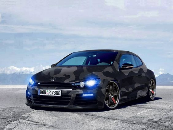 volkswagen scirocco r line camouflage style. Black Bedroom Furniture Sets. Home Design Ideas