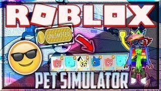 New Roblox Hack Script Pet Simulator Unlimited Coins Pets