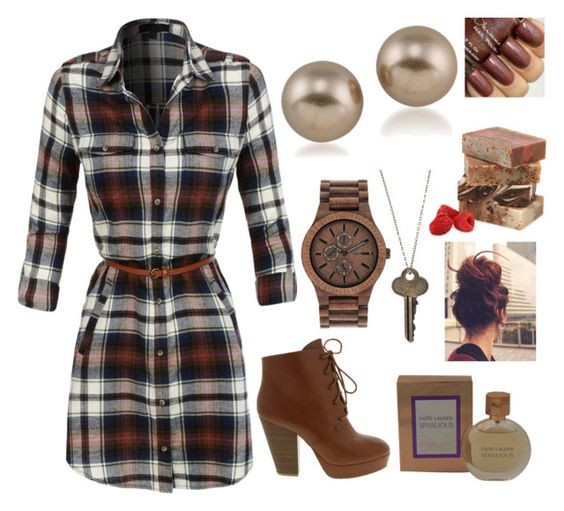 """""""Untitled #1979"""" by sarah-michelle-steed ❤ liked on Polyvore featuring LE3NO, WeWood, The Giving Keys, Carolee, Estée Lauder, women's clothing, women's fashion, women, female and woman"""