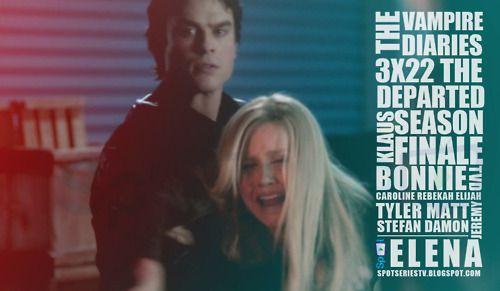 The Vampire Diaries -  do 3x22 - The Departed (Season Finale)  Um final de temporada ÉPICO. Confira a review aqui. http://spotseriestv.blogspot.com.br/2012/05/review-vampire-diaries-3x22-departed.html