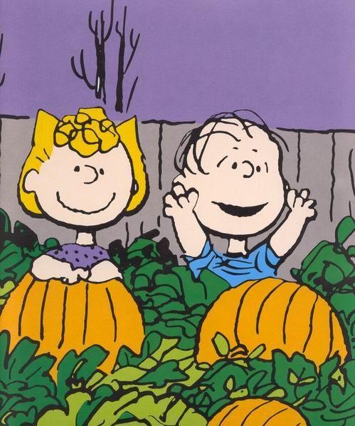 Pumpkin Patch Background | FREE Cartoon Graphics / Pics / Gifs / Photographs: Peanuts / Snoopy ...