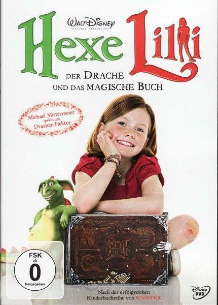 Lilli ve Sihirli Kitabı - Hexe Lilli: Der Drache und das magische Buch