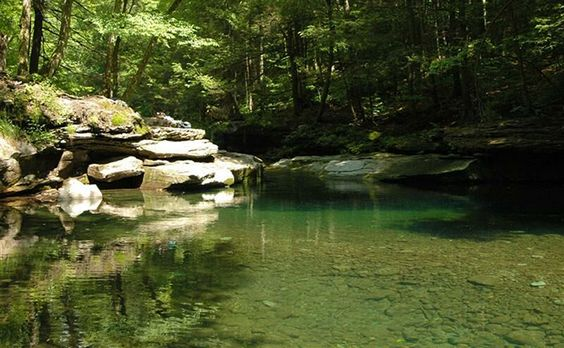 Peekamoose Blue Hole, Catskills, New York: