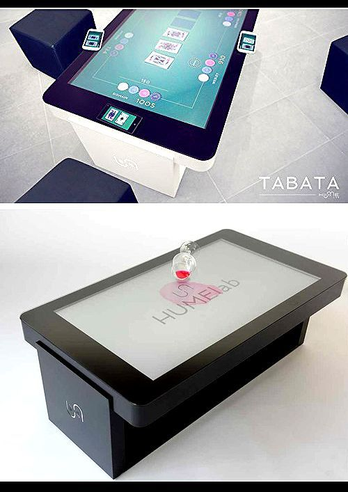 Tabata Touch Screen Durable And Waterproof Coffee Table Touch