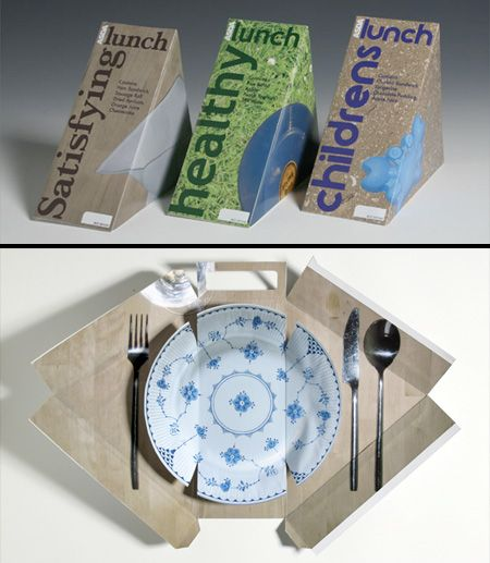 Creative package design.
