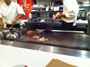 Food prepared in front of you, Jinroku Pacific Teppan Grill, Hawaii