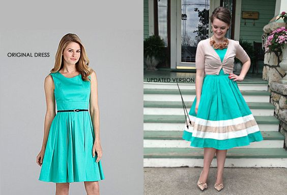 Kleid verlängern