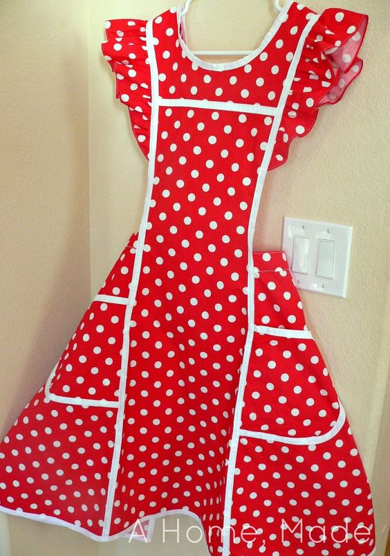 Cute aprons, Aprons and Home made on Pinterest