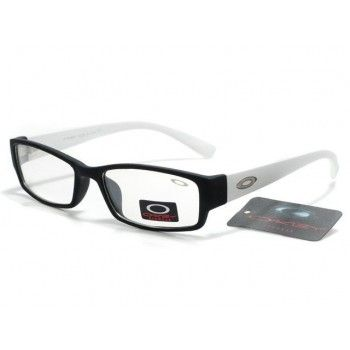 cheap oakley glasses  cheap oakley plain glass sunglasses matte black white frames clear lens