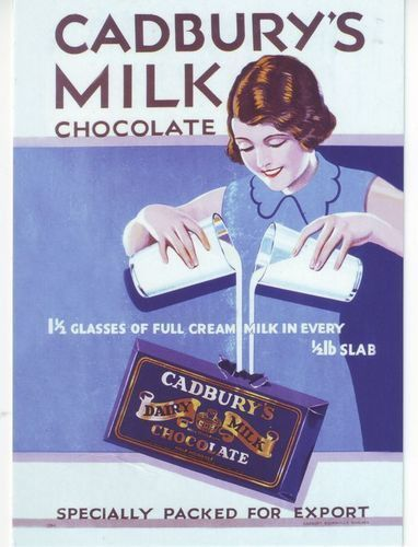 1935 Cadburys Dairy Milk Advert A3 Poster Reprint Listing in the Modern (1900 to 1989),Posters,Art Category on eBid United Kingdom