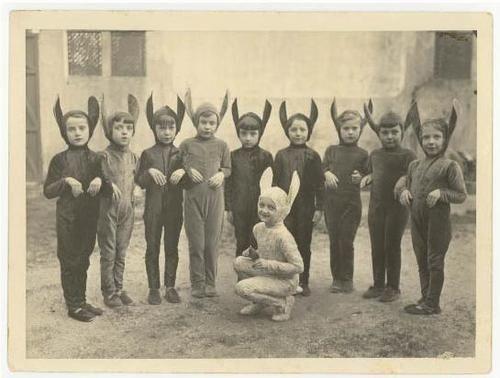 bunny, costume, old photo, rabbit, sepia, vintage