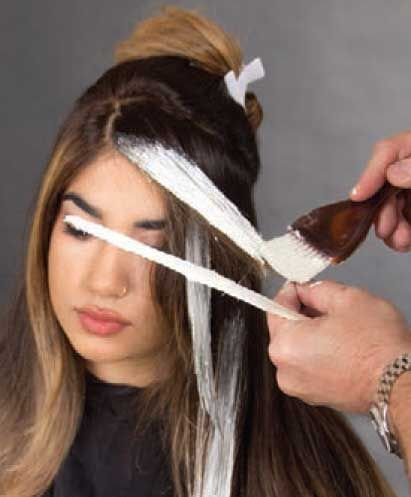 How To Make Hairstyle `Ombre Balayage`