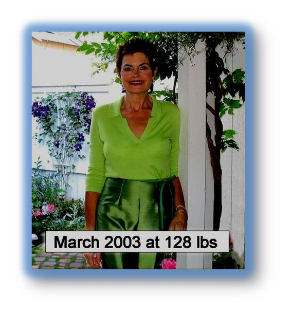 Nancy has kept her weight off now for 10 years.