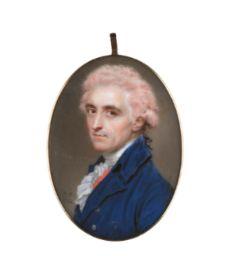 John Smart PORTRAIT OF CAPTAIN, THE HON. JAMES HAMILTON (1746-1804)