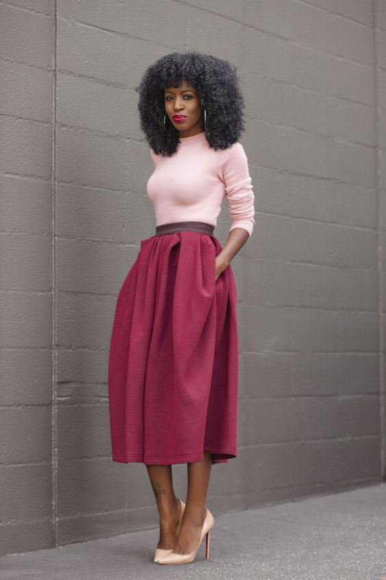|| Rita and Phill specializes in custom skirts. Follow Rita and Phill for more midi skirt images. https://www.pinterest.com/ritaandphill/midi-skirts: