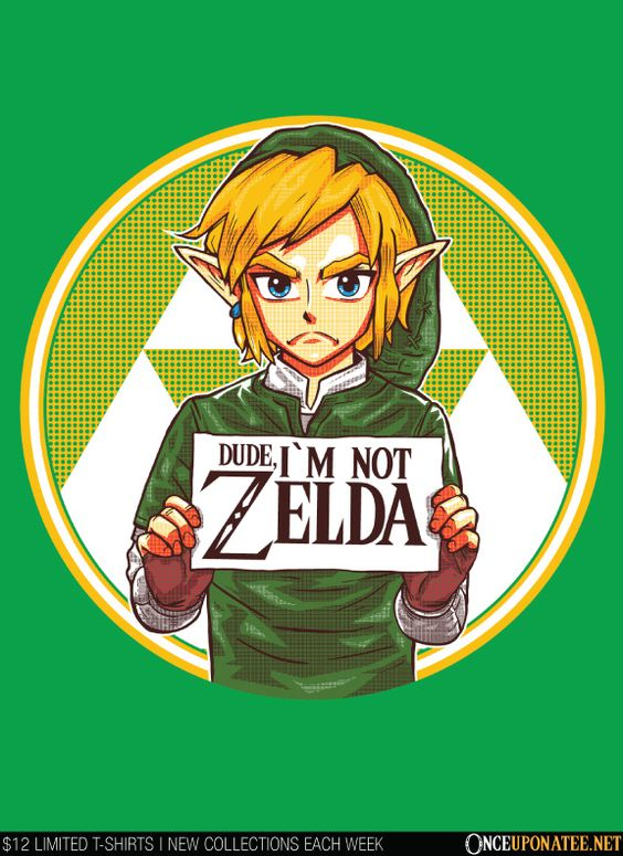 """Dude, I Am Not Zelda"" features a Darker version of the Hero of Time. it gets me soooo made when my friends go ""that's Zelda right"""