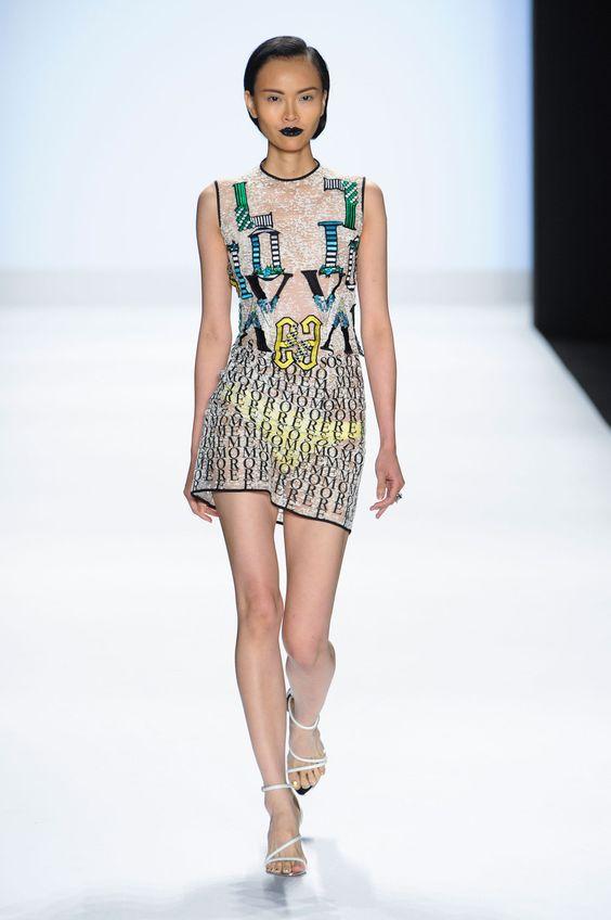 Sandhya Garg -New York Fashion Week Spring 2015.