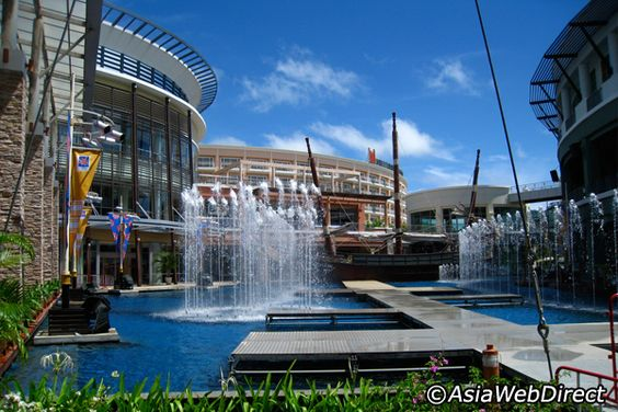 Spent a lot of time atthe Jungceylon Shopping Complex in Phuket, Thailand
