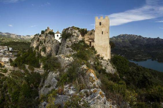 El Castell de Guadalest. Pueblo con encanto