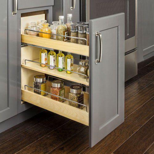 Hardware Resources No Wiggle 5 Inch Drawer Base Cabinet Pullout With Soft Close Undermount Slides Dbpo 5sc Kitchen Design Kitchen Renovation Kitchen Remodel