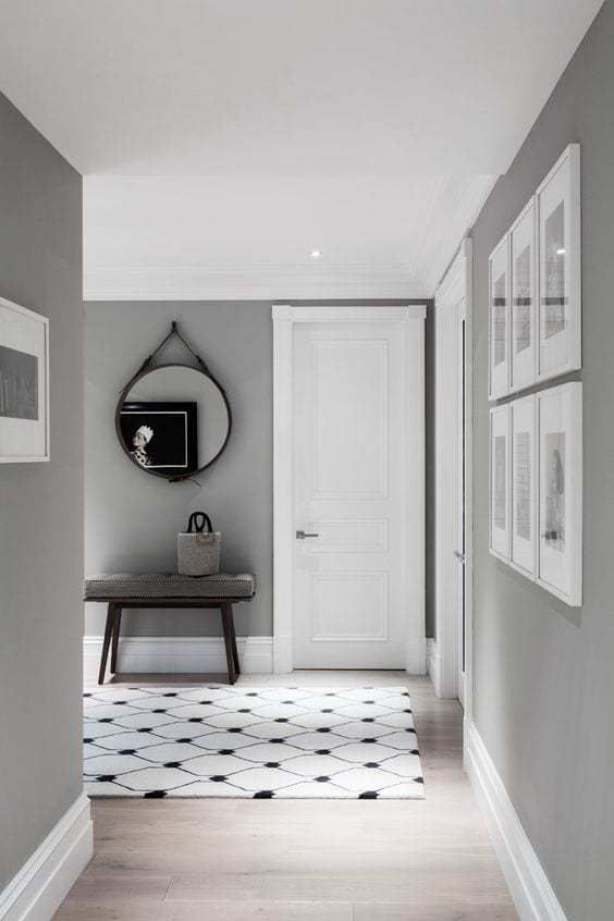 Light Oak Grey Living Room Color Ideas Grey Walls Living Room Grey Walls White Trim Grey Walls
