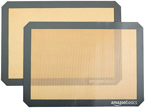 Amazonbasics Silicone Baking Mat Sheet Set Of 2 Amazonba Https