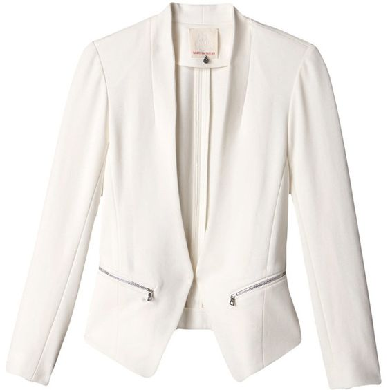 Coats, White blazers and Leather jackets on Pinterest