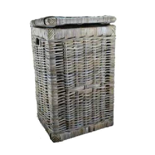 Laundry Hamper With Lid Kubu Grey