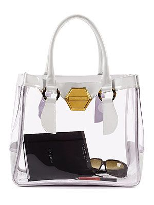 Would You Carry A Clear Bag? – Style News - StyleWatch - People.com