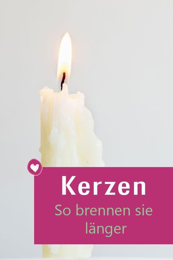 Brennende Kerze So Verlangern Sie Ihre Lebensdauer Kerzen