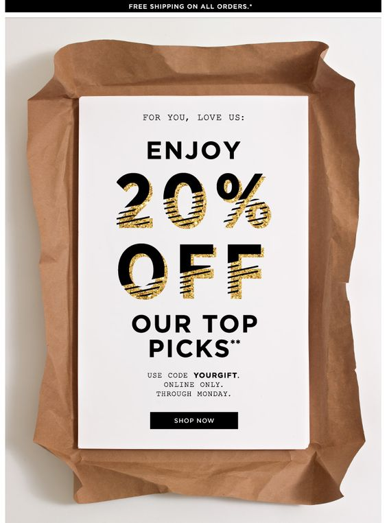 Simple to execute - Jcrew email