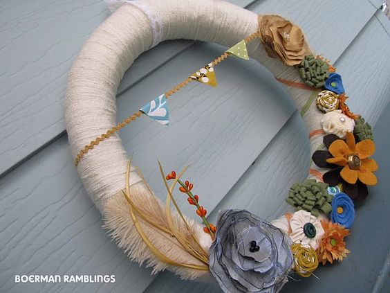 Cute DIY Fall Wreath