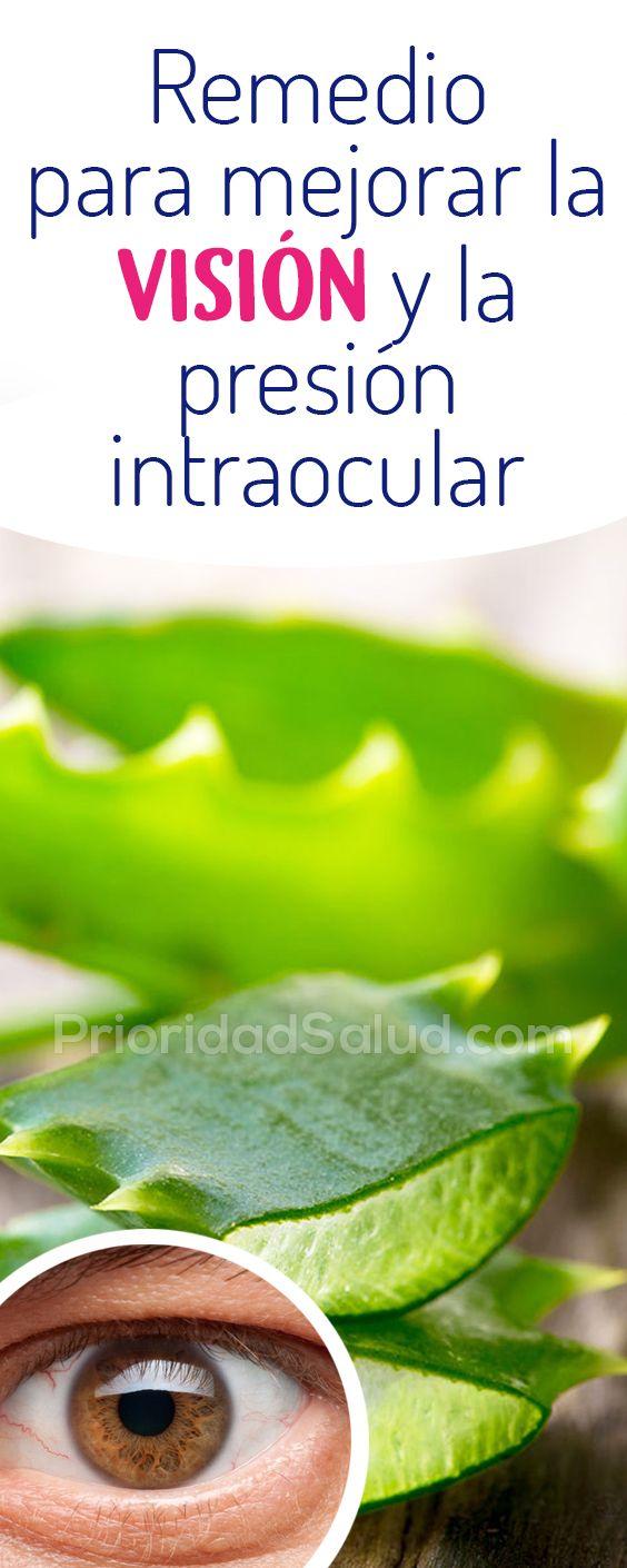 Remedio Natural Para Mejorar La Vista Y La Presion Intraocular A Base De Aloe Vera Es Simple Y Facil De Hacer Tension Alta Glau Health Green Beans Cucumber