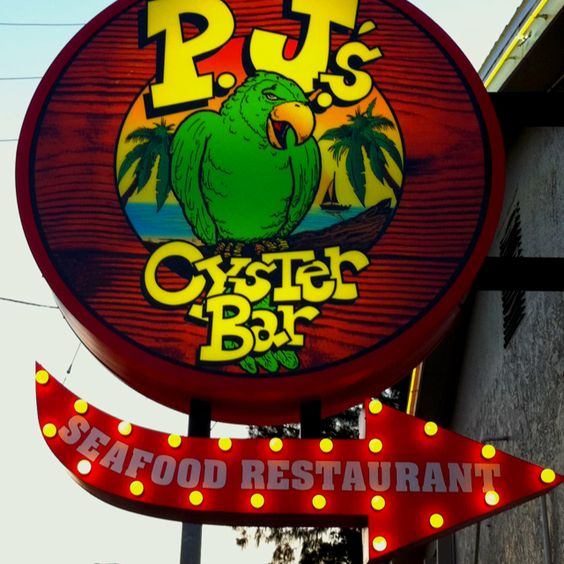 PJ's oyster bar in Indian Rocks Beach, Fl.