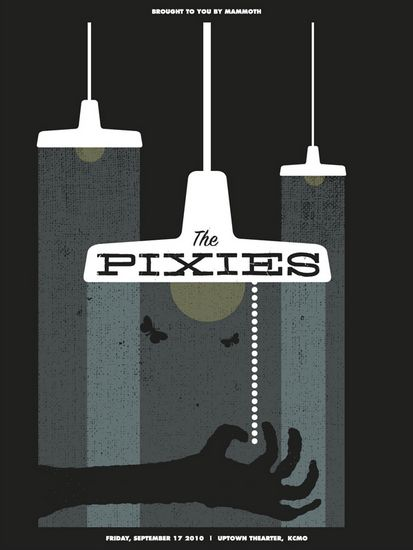 The Pixies concert poster: