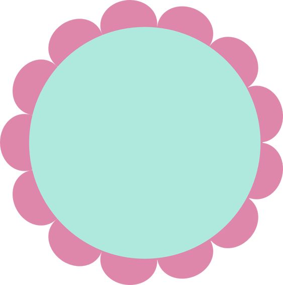 Flower frame solo para educadoras pinterest tags for Flower tags template free