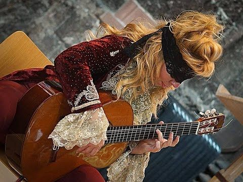 Galina Vale La Catedral Barrios Flamenco Version Guitar Lessons Fingerpicking Classical Guitar Guitar Girl