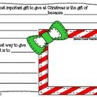 Here is a 7 page, differentiated writing activity that focuses on the true meaning of Christmas....kindness and joy! :)MERRY CHRISTMAS! :)Graph...