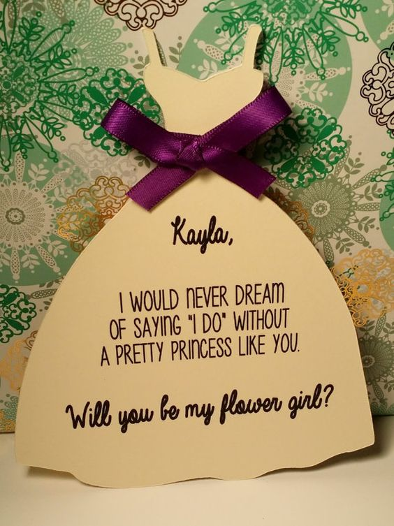 Will you be my flower girl by InnovativeGoodies on Etsy
