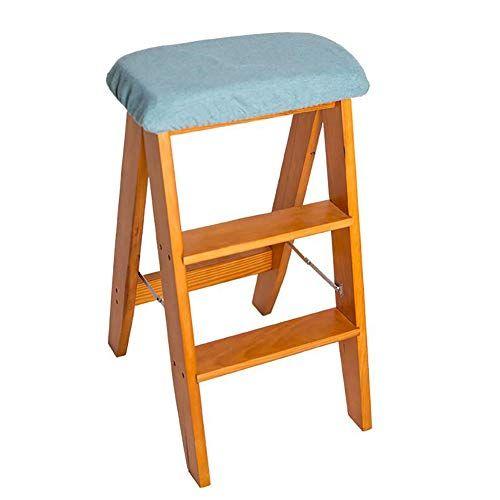 Ladder Stool Wwl Wooden 3 Step Stool Heavy Duty Portable