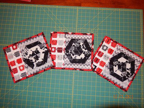 DSCN0174 Mug rugs for gift exchange.