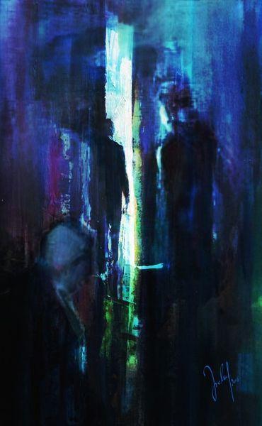 'shadows' von Georg Ireland bei artflakes.com als Poster oder Kunstdruck $18.71