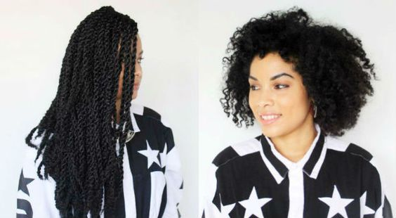 before and after my havana twists 650wide